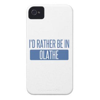 Ik zou eerder in Olathe zijn iPhone 4 Hoesje