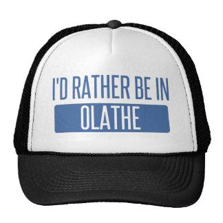 Ik zou eerder in Olathe zijn Petten Met Netje