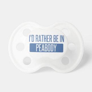 Ik zou eerder in Peabody zijn Fopspeentjes