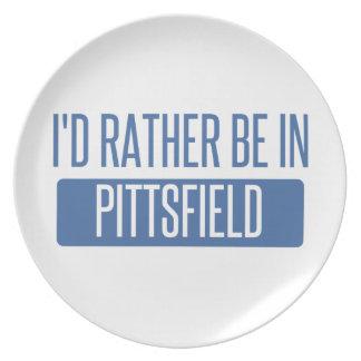 Ik zou eerder in Pittsfield zijn Melamine+bord