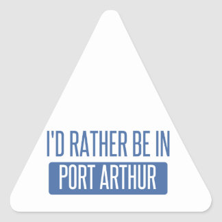 Ik zou eerder in Port Arthur zijn Stickers