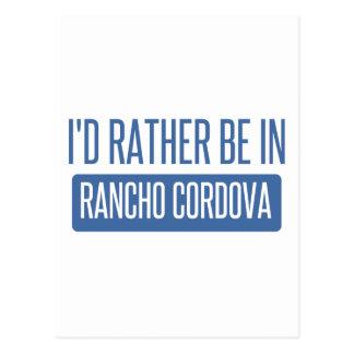 Ik zou eerder in Rancho Cordova zijn Briefkaart