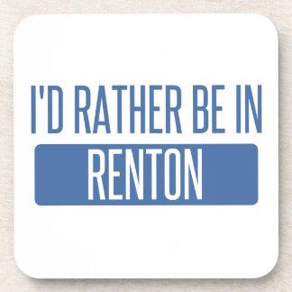 Ik zou eerder in Renton zijn Drankjes Onderzetters
