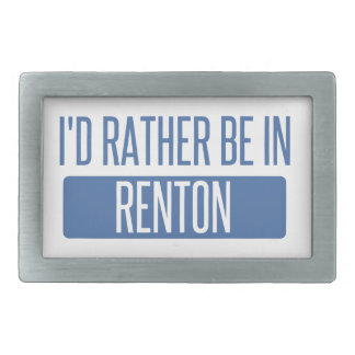 Ik zou eerder in Renton zijn Gespen