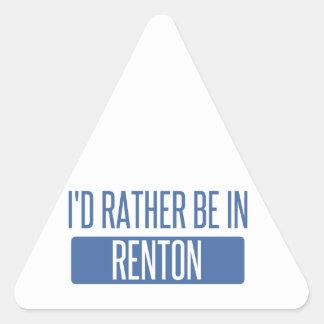 Ik zou eerder in Renton zijn Stickers