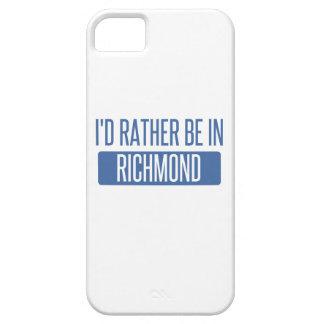 Ik zou eerder in Richmond BINNEN zijn Barely There iPhone 5 Hoesje