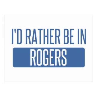 Ik zou eerder in Rogers zijn Briefkaart