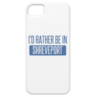 Ik zou eerder in Shreveport zijn Barely There iPhone 5 Hoesje