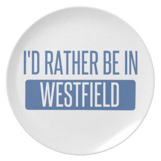 Ik zou eerder in Westfield zijn Melamine+bord