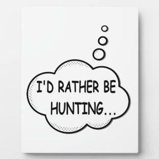 Ik zou eerder jagen fotoplaat
