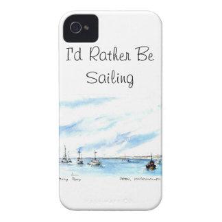 Ik zou eerder - Monterey Californië varen iPhone 4 Hoesje