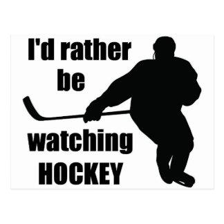 Ik zou eerder op hockey letten briefkaart