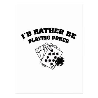 Ik zou eerder Pook spelen Briefkaart