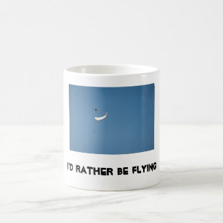 Ik zou eerder vliegen koffiemok