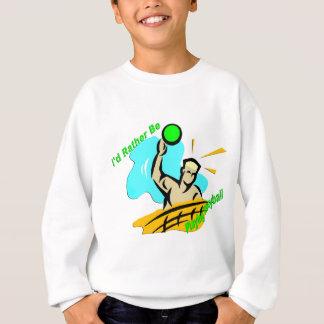 Ik zou eerder Volleyball spelen Trui