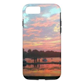 Ik zou eerder… Zonsondergang bij het Dok zijn iPhone 7 Hoesje