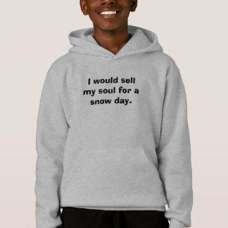 Ik zou mijn ziel voor een sneeuwdag verkopen