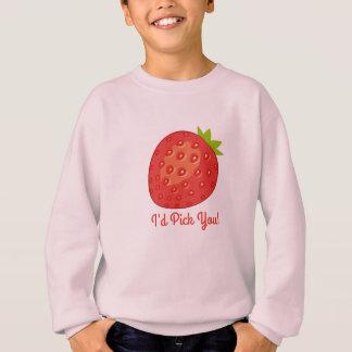 """""""Ik zou u!"""" plukken Het Sweatshirt van het Meisje"""