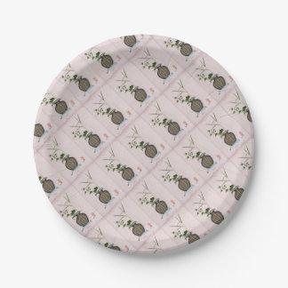 Ikebana 5 door tony fernandes papieren bordje