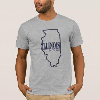 ILLINOIS - S is Stil T Shirt