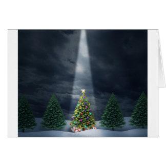 Illuminated-Tree.jpg Briefkaarten 0