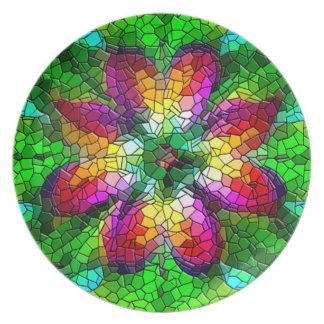 Bloemen moza ek borden bloemen moza ek borden designs - Mozaiek ontwerp ...