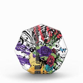 Illustratie 3 van de Gitaar van Grunge Acryl Prijs