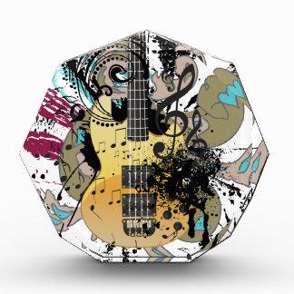 Illustratie 4 van de Gitaar van Grunge Acryl Prijs