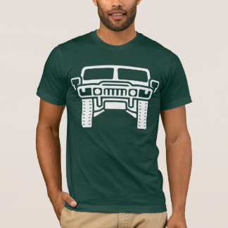 Illustratie Hummer/Humvee T Shirt