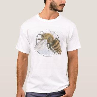 Illustratie van de Europese Bij van de Honing T Shirt