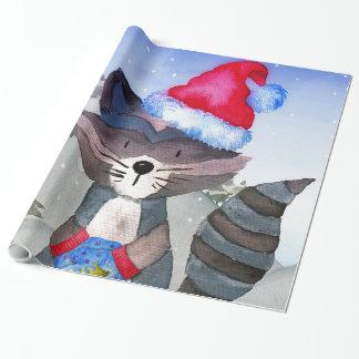Illustratie van de Wasbeer van de Vrienden van de Inpakpapier