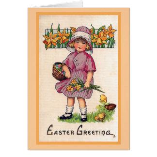 Illustratie van Pasen van de Groeten van Pasen de Wenskaart