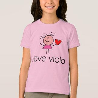 iLove de Gift van de Minnaar van de Altviool T Shirt