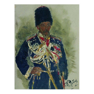 Ilya Repin- Algemeen in de vorm van koninklijke Briefkaart