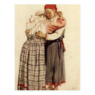 Ilya Repin: Vrouw twee Briefkaart