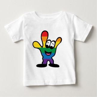 ILYrainbowFinal Baby T Shirts