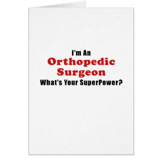 Im een Orthopedische Chirurg wat Uw Grootmacht is Kaart