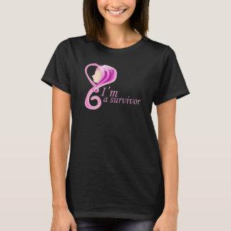 Im een overlevende - de voorlichting van Kanker - T Shirt