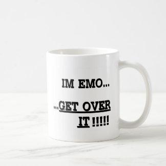 Im Emo… KRIJG OVER HET Koffiemok