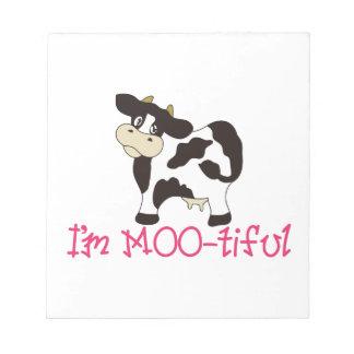 Im MOO_tiful Notitieblok