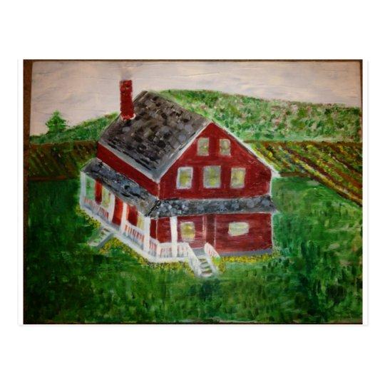 image.jpeg Dutch-American Farmhouse-Freeing Slaves Briefkaart