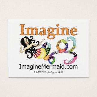 ImagineMermaid.com veronderstelt de Visitekaartjes
