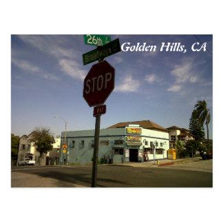 IMG00545-20110602-1659, Gouden Heuvels, CA Briefkaart