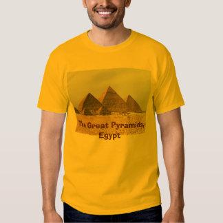 IMG6, de Grote Piramides, Egypte Shirts