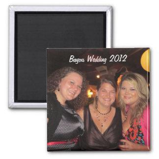 IMG_1550 (2).jpg, Bayou Huwelijk 2012 Vierkante Magneet