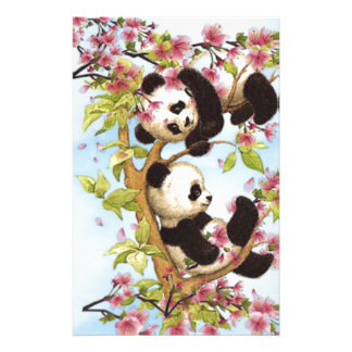 IMG_7386.PNG leuke en kleurrijke ontworpen panda Briefpapier