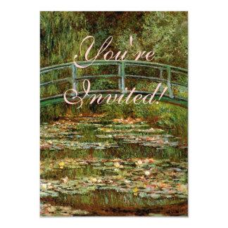 Impressionist van de Brug van Monet de Franse Kaart
