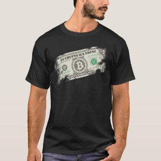 In crypto die wij hebben vertrouwd op t shirt