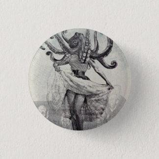 In de duisternis, in het overzees ronde button 3,2 cm