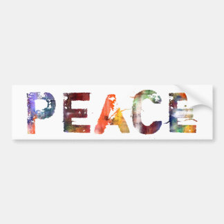 In een Woord: Vrede Bumpersticker